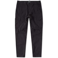 Stone Island Shadow Project Garment Dyed Gabardine Pant Black