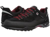 Allrounder By Mephisto Tacco Tex Black Rubber Suede Shoes