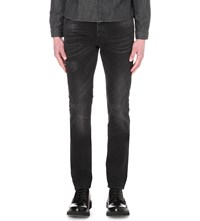 The Kooples Slim Fit Tapered Jeans Black