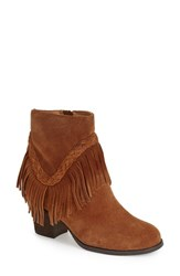 Women's Sbicca 'Patience' Boot Tan Leather