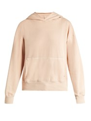 Bliss And Mischief Pigment Hooded Jersey Top Light Pink