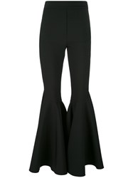 Ellery Super Flared Trousers Black