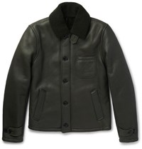 Todd Snyder Nyder Hearling Jacket Green
