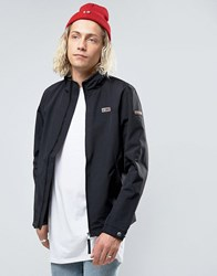 Napapijri Shelter Zipthru Jacket Nylon In Black Black