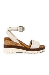 See By Chloe Colorblock Wedge White