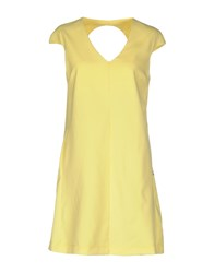 Met Short Dresses Yellow