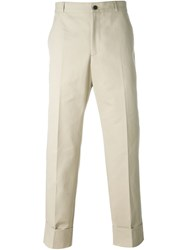 Melindagloss Large Cuffed Pants Nude And Neutrals