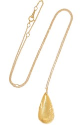 Alighieri The Delphic Tear Gold Plated Necklace One Size
