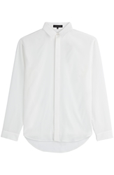 Barbara Bui Oversized Silk Blouse