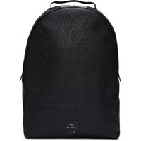 Paul Smith Ps By Black Grained Leather Backpack