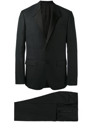 Givenchy Suit Jacket Men Cotton Polyester Cupro Virgin Wool 54 Black