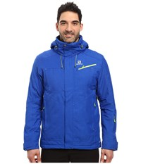Salomon Fantasy Jacket Blue Yonder Men's Coat