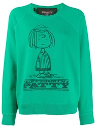 Marc Jacobs Peppermint Patty Sweatshirt Green