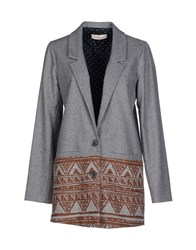Macchia J Suits And Jackets Blazers Women Grey