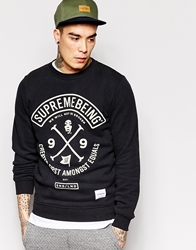 Supreme Being Supremebeing Colors Sweatshirt Black