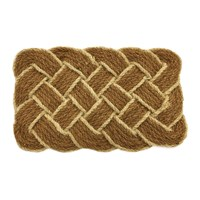 Artsy Doormats Lover's Knot Door Mat Cream