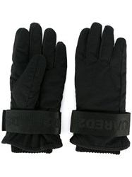Dsquared2 Ski Gloves Black