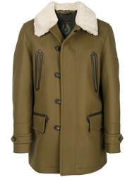 Belstaff Classic Button Coat Brown