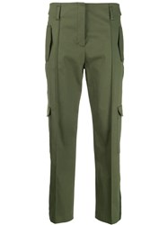 Dorothee Schumacher Cropped Length Trousers Green