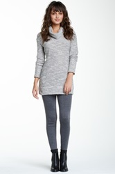 Magid Solid Cotton Leggings Gray