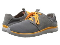 Cushe Getaway Grey Orange Men's Shoes Gray