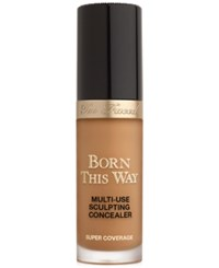 Too Faced Born This Way Super Coverage Multi Use Sculpting Concealer Chestnut Deep With Neutral To Golden Undertones