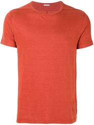 Homecore Classic Fitted T Shirt Yellow And Orange
