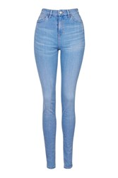 Topshop Tall Bright Blue Jamie Jeans