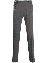 Berwich Check Tailored Trousers 60