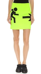 Karla Spetic Mini Exit Skirt Neon Green