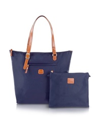 Bric's X Bag Large Foldable Tote Midnight Blue