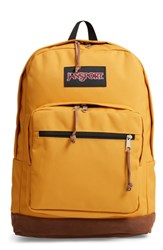 Jansport 'Right Pack' Backpack Yellow English Mustard