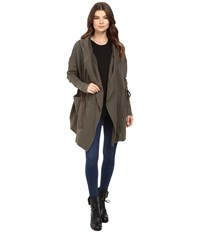 Free People Brentwood Cardigan Olive Women's Sweater