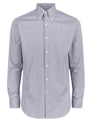 Aquascutum London Leven Check Shirt Brown