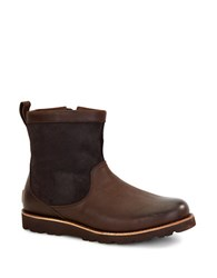 Ugg Munroe Shearling Lined Leather Boots Brown