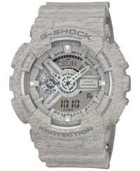 G Shock Men's Chronograph Analog Digital Gray Strap Watch 55X51mm Ga110ht 8A No Color