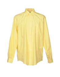 Henry Cotton's Shirts Yellow