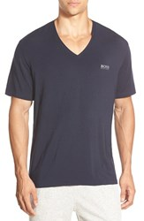 Men's Boss Stretch Modal V Neck T Shirt