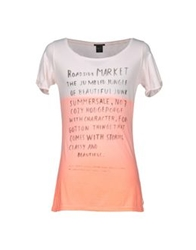Maison Scotch T Shirts Orange