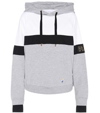 P.E Nation Fly Ball Cotton Hoodie Grey