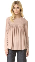 N 21 Long Sleeve Top Nude