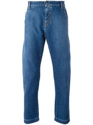 Ports 1961 Loose Fit Jeans Blue
