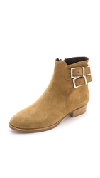 Surface To Air Drew Suede Booties Beige