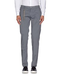 Manuel Ritz Trousers Casual Trousers Men Grey