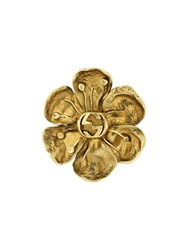 Gucci Flower Detail Ring 60