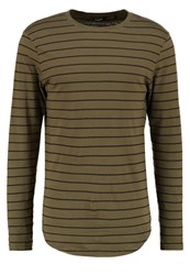 Only And Sons Onsmatt Long Sleeved Top Olive Night