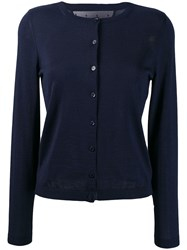 Red Valentino Button Down Cardigan Blue