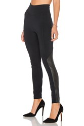 Spanx Perforated Panel Legging Black