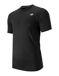 New Balance Athletic Tee Black