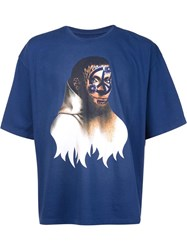 Y Project Monk Mural T Shirt Blue